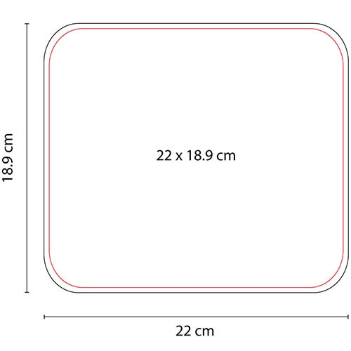 Mouse pad rectangular