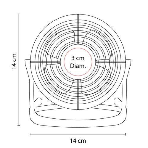Ventilador USB Hava