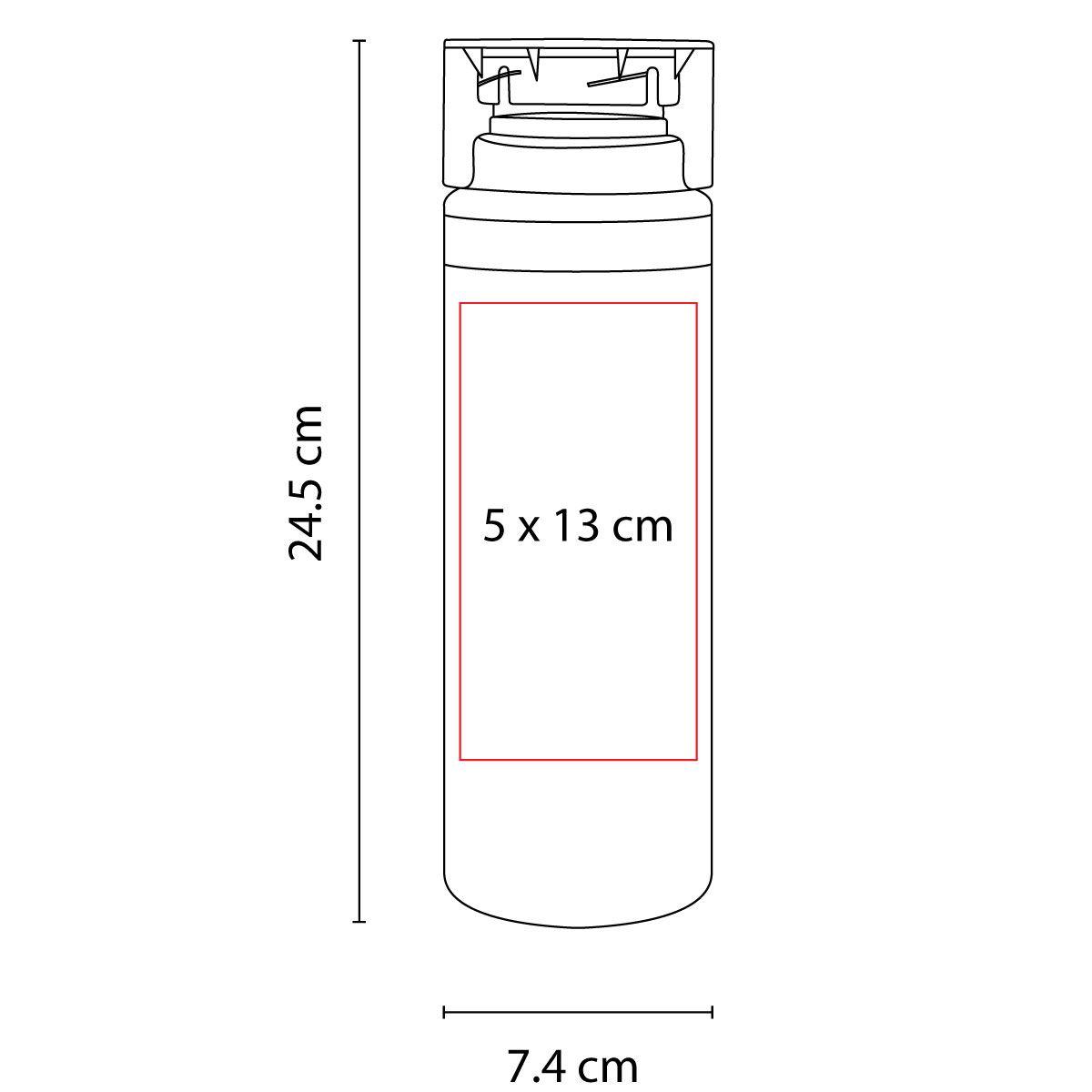 Cilindro de plástico Lake